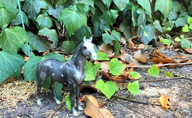 Equestrian Lifestyle: Dappled Grey Breyer